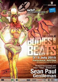 The Fusion of Bodies & Beats - World Bodypainting Festival 2015