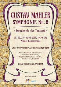 Gustav Mahler: Symphonie Nr. 8 in ES-Dur