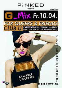G-Mix / Ginger Red / Kamikace@Club U
