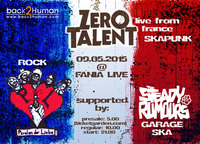 Ska! Punk! Rock! - Zero Talent live from France@Fania Live