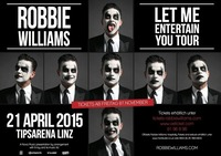 Robbie Williams live@Arena Linz