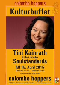 Tini Kainrath präsentiert Soulstandards beim Kulturbuffet@Sri Lanka-Restaurant Colombo Hoppers