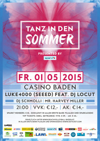 Tanz in den Sommer / presented by spark7 @Casino Baden