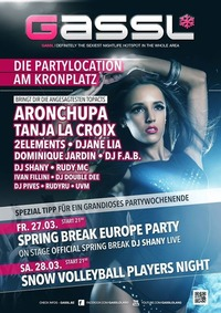 Spring Break Europe Party