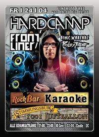 Hardcamp mit Frontliner@Excalibur