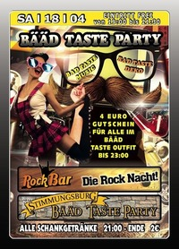 Bd -Taste Party@Excalibur