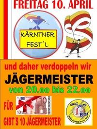 Kärntner Fest´l April@1-Euro-Bar