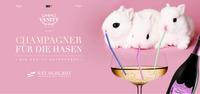 Vanity - Champagner für die Hasen*@Babenberger Passage