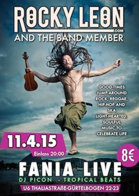 Rocky Leon & The Band Member Live in Concert@Fania Live