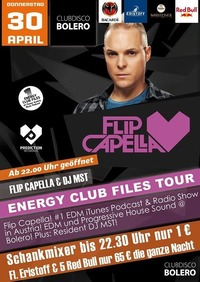 Energy Club Files Tour / Flip Capella@Bolero
