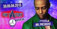 FunFactory Revival - Live: Mr.President@A-Danceclub