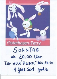 Osterhasen - Party