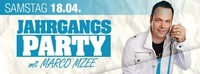 Jahrgangsparty mit Marco Mzee