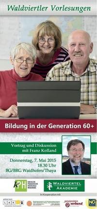 Bildung in der Generation 60+@Bg/Brg Waidhofen/thaya