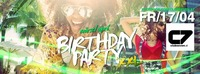 Birthday Party  März + April