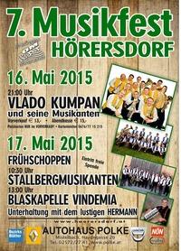 7. Musikfest in Hörersdorf@Festzelt in der Wirtshausgasse