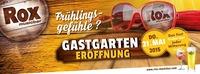 Gastgarten Eröffnung