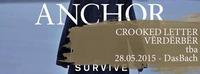 Anchor (SWE), Crooked Letter (SWE) und VËRDËRBËR (VIE)