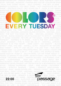 Colors - Every Tuesday@Babenberger Passage
