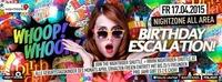 Whoop Whoop - Birthday Escalation XXL