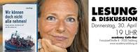 Wir können doch nicht alle nehmen - Lesung und Diskussion mit Livia Klingl@academy Cafe-Bar