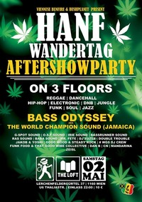 The Official Hanfwandertag-Aftershowparty 2015