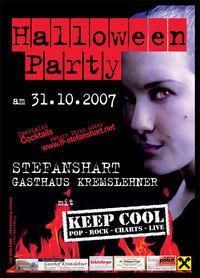 Halloweenparty mit KEEP COOL@GH Kremslehner