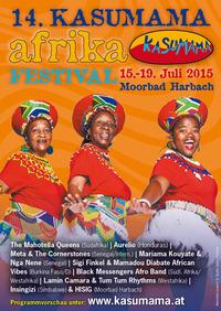 15. Kasumama Afrika Festival@Festivalgelände am Holzmühlteich