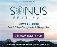 Sonus Festival 2015@Zrće Beach