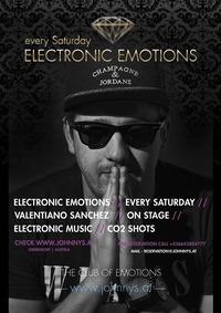 Electronic Emotions #ValentianoSanchez live@Johnnys - The Castle of Emotions