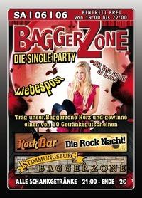 Baggerzone - Die Single Party@Excalibur