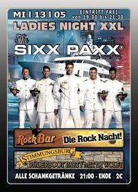 Ladies Night XXL The SIXX PAXX@Excalibur