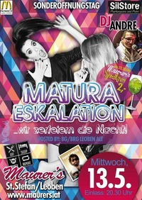 Matura Eskalation Vol.4: hosted by: Bg/brg Leoben alt