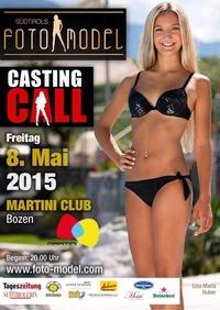 SÜDTIROLS FOTOMODEL 2015- Casting @ Martini Bozen