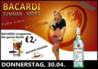Bacardi Summer-Night