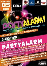 Partyalarm im Bolero@Bolero