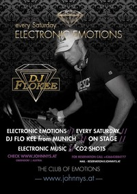Electronic Emotions #FloKee@Johnnys - The Castle of Emotions