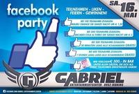 Facebook Party   @Gabriel Entertainment Center
