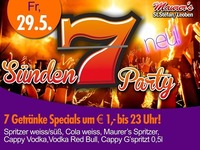 7 Sünden Party