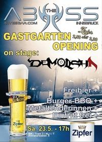 Gastgarten Grand Opening@Abyss Bar