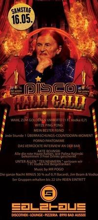 Disco - Halligalli@Salzhaus