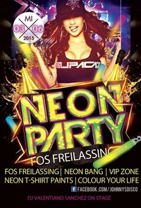 Neon Party - Fos Freilassing Holiday Special +16@Johnnys - The Castle of Emotions