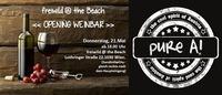 Opening Weinbar & Zigarrenlounge - freiwild