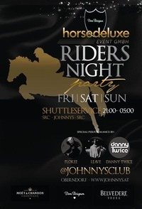 Horsedeluxe Riders Night@Johnnys - The Castle of Emotions