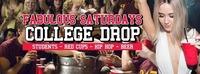 Fabulous Saturdays - College Drop / Schools Out