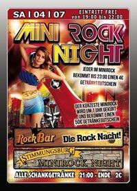 Mini Rock Night@Excalibur