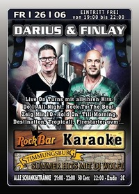 Darius & Finlay Live on Turns@Excalibur