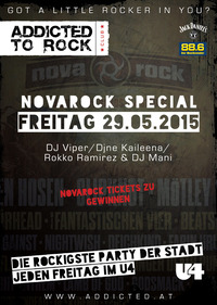 Addicted to Rock - Novarock Special@U4