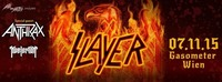 Slayer presented by Mind Over Matter