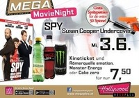 Mega MovieNight: Spy - Susan Cooper Undercover@Hollywood Megaplex